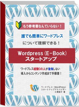 ワードプレス設定の完全版(E-Book)